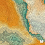 abstrakcyjny tło krajobrazu mozaika Fotografia Stock