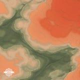 abstrakcyjny tło krajobrazu mozaika 3d ilustracja wektor Zdjęcia Stock