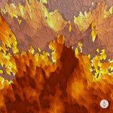 abstrakcyjny tło krajobrazu Mozaika wektor Zdjęcie Royalty Free