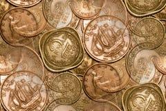 abstrakcyjny tło monety roczne obraz royalty free