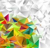 abstrakcyjny tło mozaiki triangulated tekstura Fotografia Royalty Free