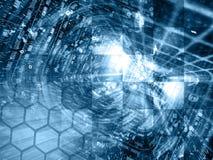abstrakcyjny tło składu konceptualny komputer Obrazy Stock