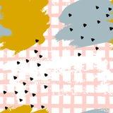 Abstraktów szczotkarscy Bezszwowi wzory ilustracji
