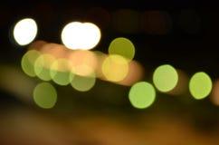 Abstraktów światła zdjęcia stock