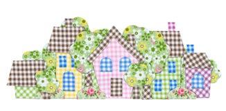 abstraktów domy Zdjęcie Stock
