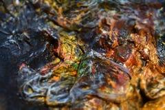 Abstraktów głębocy muśnięcia farby tło Obrazy Stock