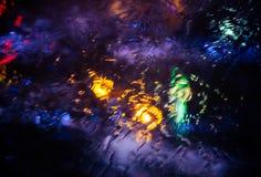 Abstraktów grops wodny tło Obraz Royalty Free