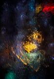 Abstraktów grops wodny tło Zdjęcia Stock