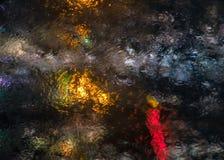 Abstraktów grops wodny tło Obrazy Stock