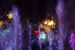 Abstraktów grops wodny tło Fotografia Royalty Free