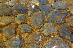 Abstraktów kamienie w wodzie Obrazy Royalty Free
