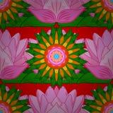 Abstraktów kolorów obrazek Zdjęcia Royalty Free