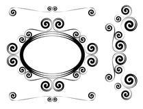 abstraktów kształty Zdjęcie Stock