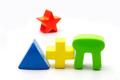 abstraktów kształty Obrazy Stock