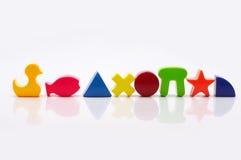 abstraktów kształty Obraz Stock