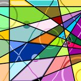abstraktów kształty Obraz Royalty Free