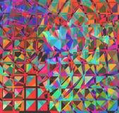 abstraktów kwadraty Fotografia Royalty Free