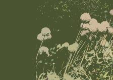 abstraktów kwiaty royalty ilustracja