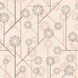 abstraktów kwiaty Obraz Royalty Free