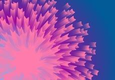 abstraktów kwiaty Obrazy Stock