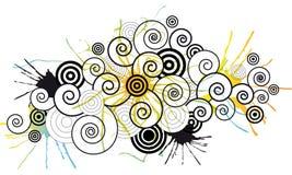 abstraktów kwitnie Zdjęcia Stock