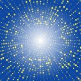 abstraktów okręgów Halftone skutek 3 d abstrakcyjne tła pozbawione kropkująca scena V Zdjęcie Royalty Free