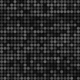 Abstraktów popielatych okregów bezszwowy deseniowy tło Zdjęcia Royalty Free