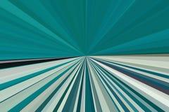 Abstraktów promieni zielony tło Kolorowy lampasa promienia wzór Eleganccy ilustracyjni nowożytni trendów kolory Fotografia Royalty Free