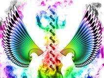 abstraktów skrzydła ilustracja wektor