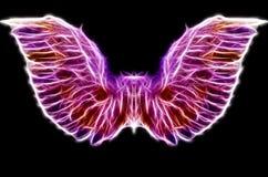 Abstraktów skrzydła Fotografia Royalty Free
