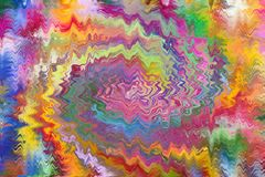 Abstraktów wzory i kolory Obraz Royalty Free