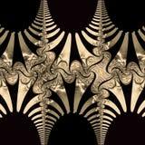 Abstraktów wzory i kształty Obraz Stock