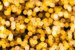 Abstraktów zamazani bożonarodzeniowe światła zdjęcia stock