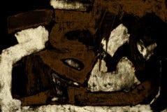 abstraktów znaków Fotografia Stock