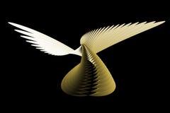 abstrakt ängel Arkivbild