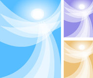 abstrakt ängeleps-ande Fotografering för Bildbyråer