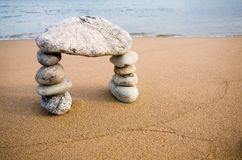 abstrakt ärke- naturliga stenar Arkivbilder