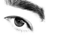 abstrakt öga Arkivfoton