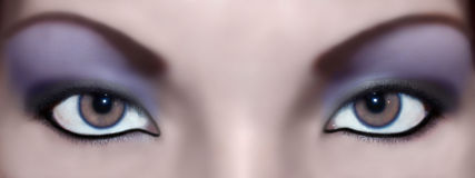 abstrakt ögon Arkivbilder