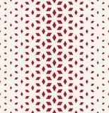 Abstrakt świętej geometrii siatki halftone sześcianów czerwony wzór royalty ilustracja