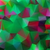 Abstrakt 3d geometriska linjer modern grunge. EPS 8 Royaltyfri Fotografi