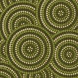 Abstrakt Aboriginal konst Royaltyfri Fotografi