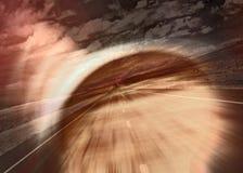 abstrakt abstractaestrada väg Royaltyfri Fotografi