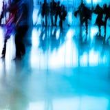abstrakt affärsstadsfolk Arkivfoton