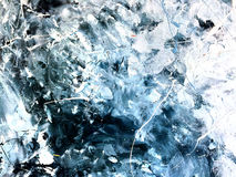 Abstrakt akryl målad textur Royaltyfria Bilder
