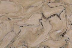 Abstrakt akrylvågmodell, naturlig bakgrund för marmorfärgpulvertextur för tapet eller hudväggtegelplatta för inredesign Arkivfoto