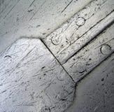 abstrakt aluminium Arkivbild