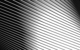 abstrakt aluminum bakgrundslinje modell Arkivfoto