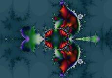 abstrakt amerikansk fractalinföding Royaltyfri Illustrationer