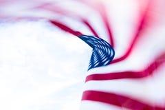 abstrakt amerikanska flaggan Royaltyfria Bilder
